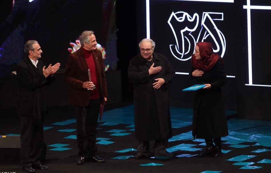 گزارش مراسم افتتاحیه جشنواره فیلم فجر 35