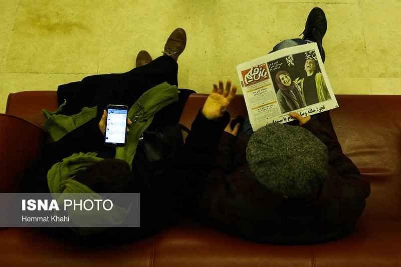 گزارش تصویری ششمین روز جشنواره فیلم فجر 35