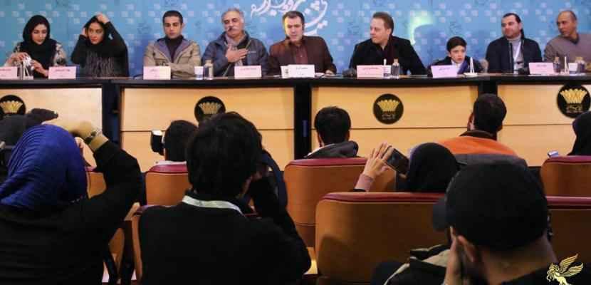 گزارش نشست فیلم کمدی انسانی در هشتمین روز جشنواره فیلم فجر 35