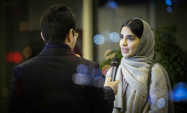الهه حصاری در کاخ جشنواره فیلم فجر 35