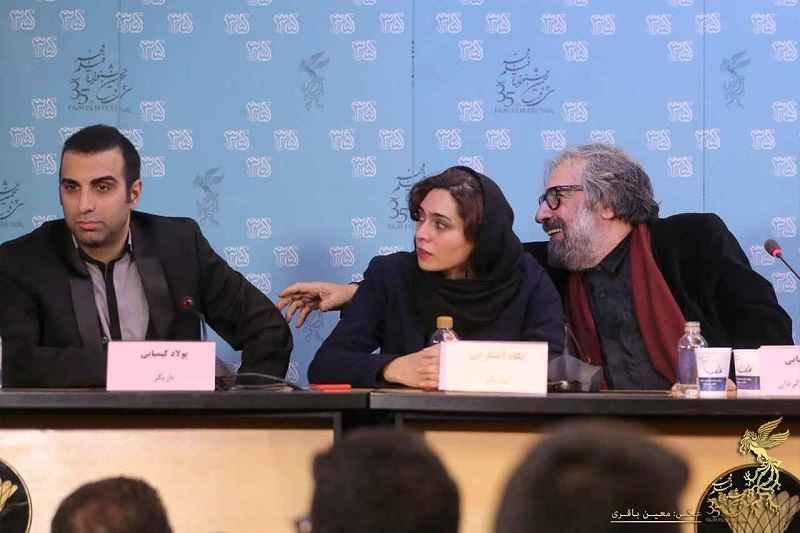 گزارش نشست جنجالی فیلم قاتل اهلی در کاخ جشنواره فیلم فجر 35