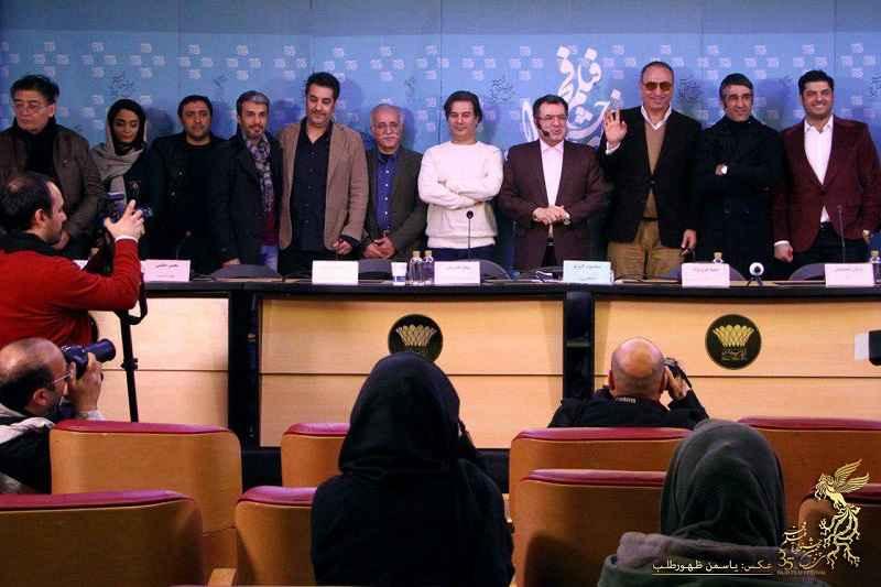 ششمین روز سی و پنجمین جشنواره فیلم فجر