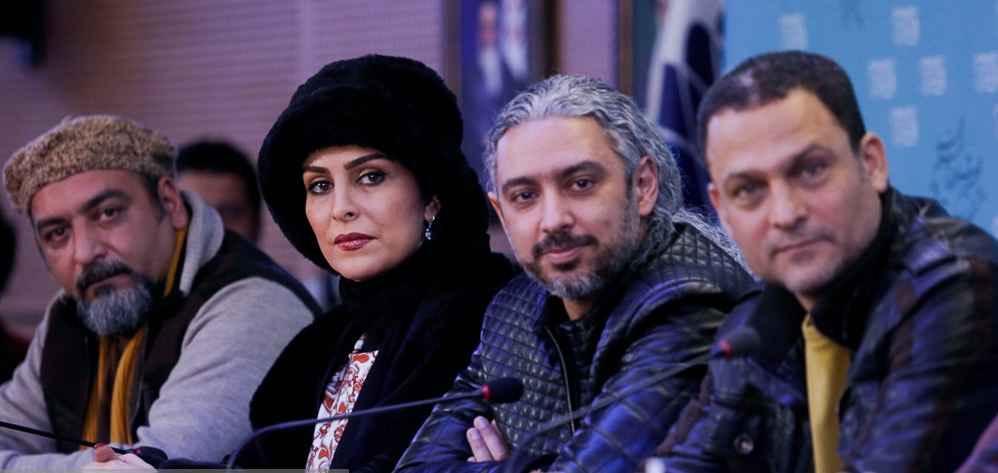 حسین یاری و مازیار فلاحی در جشنواره فیلم فجر 35