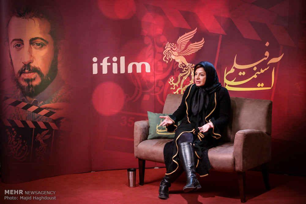 سیما تیرانداز در جشنواره فیلم فجر 35