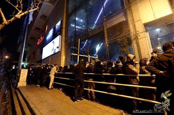 استقبال مردم از جشنواره فیلم فجر 35