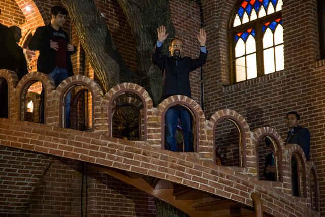 گزارش تصویری جشن اسکار و تقدیر از فرهادی در موزه سینما
