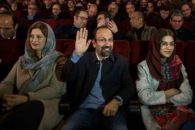 حواشی جشن اسکار فرهادی در موزه سینما + صحبت های فرهادی