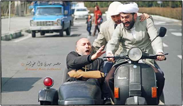 دیدار منوچهر محمدی با نمایندگان مجلس و جامعه ارامنه برای فیلم اکسیدان