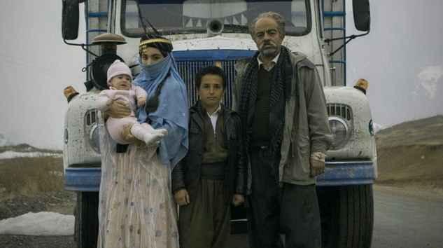 سعید اقاخانی در فیلم کامیون