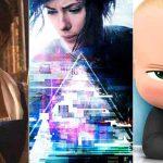 جدول باکس آفیس 2017 هالیوود به تاریخ 3 آپریل 2017 ،شکست فیلم جدید اسکارلت ژوهانسون