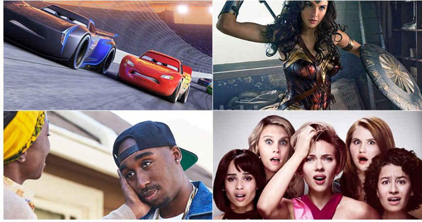 جدول باکس آفیس 2017 هالیوود به تاریخ 19 ژوئن/ انیمیش Cars 3  صدرنشین این هفته