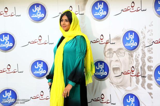 """آزاده صمدی بازیگر فیلم """"زیر نظر"""" مجید صالحی شد"""