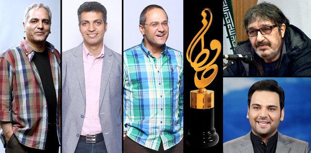پنج نامزد بهترین مجری برتر تلویزیون جشن حافظ 96 معرفی شدند