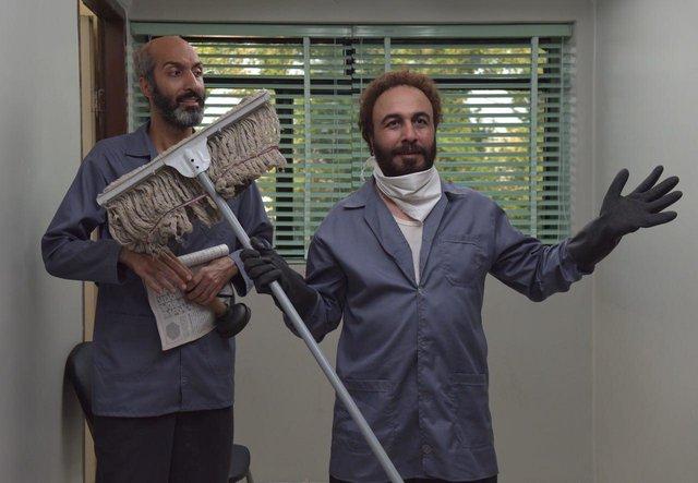 عکس ژوله و عطاران در فیلم هزارپا