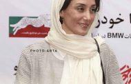 هدیه تهرانی بازیگر فیلم واسطه شد