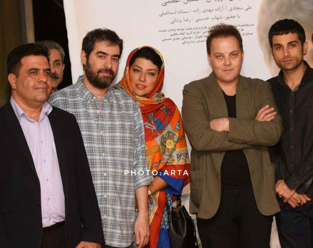 گزارش تصویری از اکران خصوصی فیلم خورشید نیمه شب به تهیه کنندگی شهاب حسینی