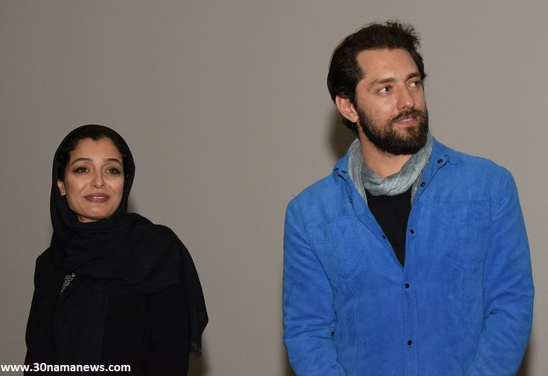 گزارش تصویری از اکران فیلم زرد در سینماکوروش با حضور بازیگران فیلم