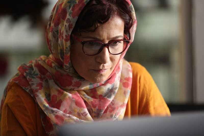 عکسی از لیلی رشیدی در فیلم عرق سرد