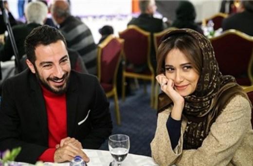 پریناز ایزدیار همبازی نوید محمدزاده در فیلم سرخ پوست شد