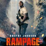 اکران فیلم  Rampage با بازی دواین جانسون یک هفته جلو افتاد