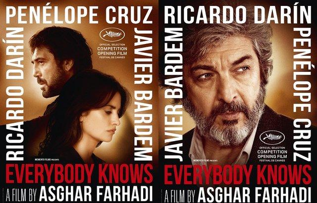 """اولین واکنش منتقدان به فیلم """"همه می دانند"""" اصفر فرهادی در کن"""