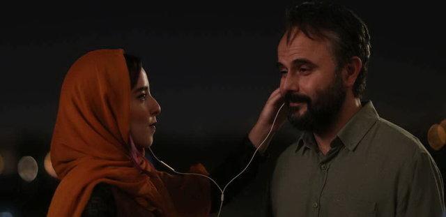 عکسی از گریم متفاوت علی مصفا در فیلم مردی بدون سایه