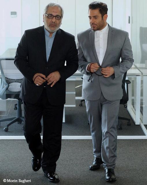 اولین تصویر از مهران مدیری و گلزار در فیلم رحمان 1400