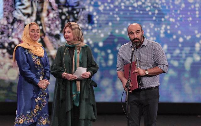 محسن تنابنده در نقش قاتل عنبکوتی