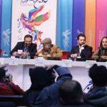 ویدیو نشست خبری فیلم آشفته گی جشنواره فیلم فجر