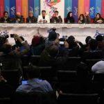 ویدیو نشست خبری فیلم مردی بدون سایه جشنواره فیلم فجر 37
