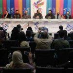 ویدیو نشست خبری فیلم مسخره باز در جشنواره فیلم فجر 37