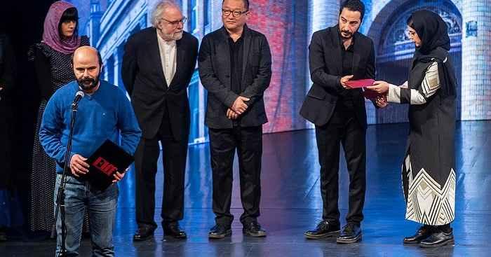 صحبت های نوید محمدزاده و سعید روستایی در جشنواره فیلم توکیو