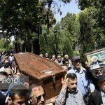 ویدئو از مراسم تشییع پیکر مرحوم «پرویز بهرام»