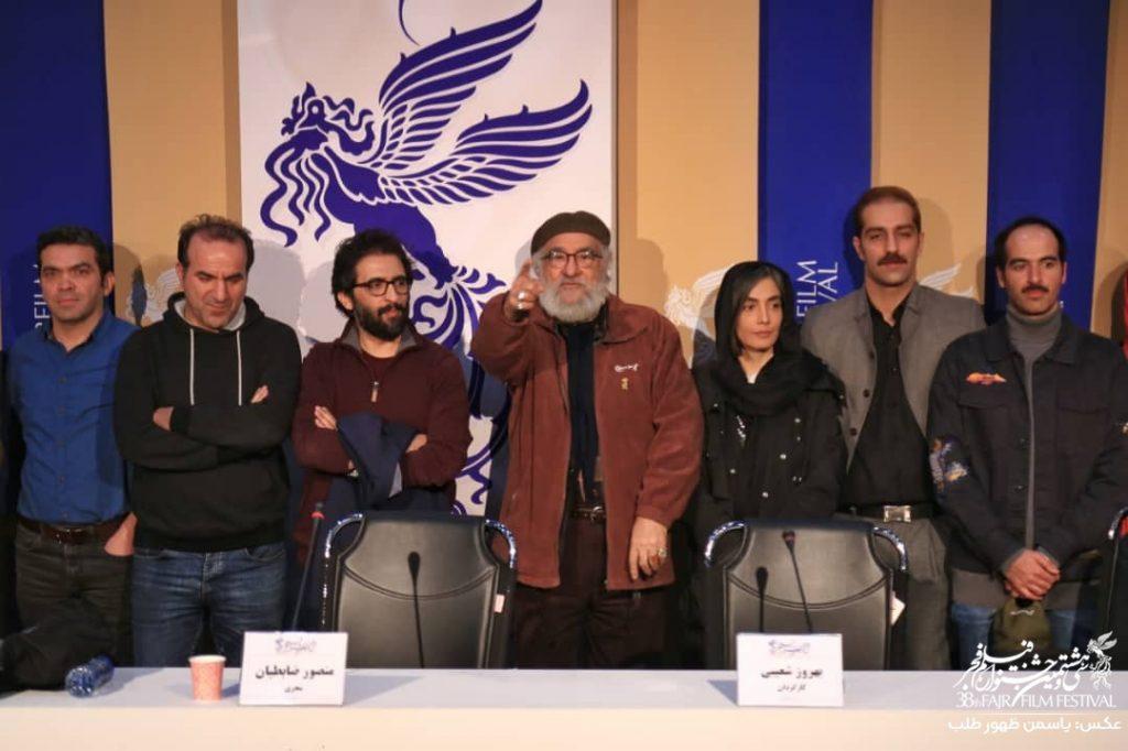 گزارش نشست خبری فیلم روز بلوا در سینمای رسانه فجر 38