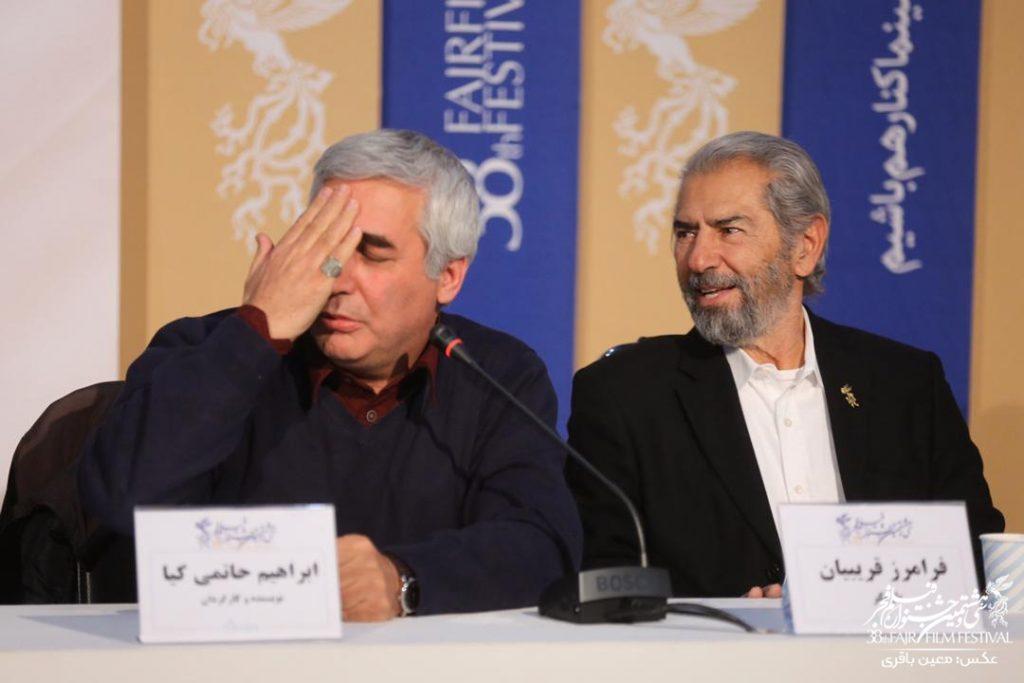 گزارش نشست خبری جنجالی فیلم خروج در جشنواره فیلم فجر
