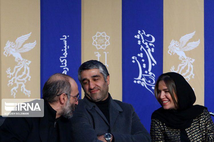 گزارش نشست خبری فیلم دوزیست در جشنواره فیلم فجر 38