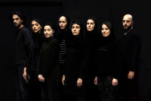 نمایش فعل اثر تازه محمدرضایی راد با بازی باران کوثری اذر96 در تئاتر شهر