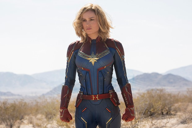 باکس آفیس هالیوود 2019 : فروش 153 میلیون دلاری Captain Marvel در اولین گام